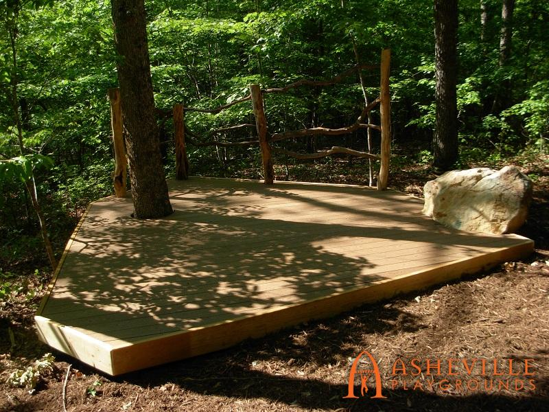 Rock Ridge Park Amphitheater Stage
