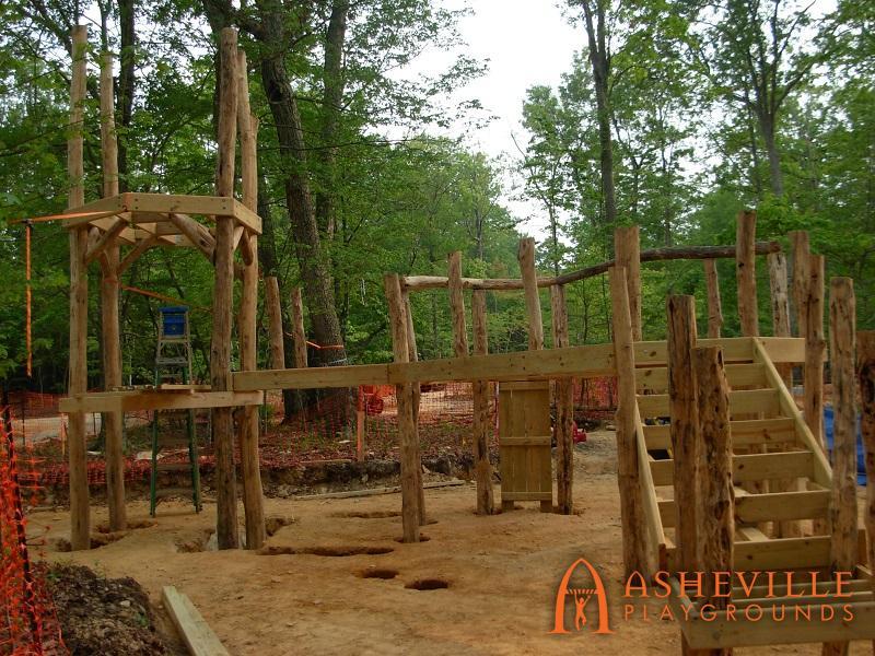 Rock Ridge Park Natural Construction 2