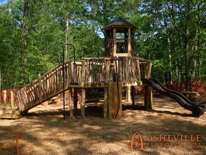 Rock Ridge Park Natural Playground Complete 1