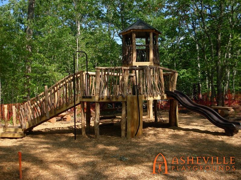 Rock Ridge Park Natural Playground Complete 1