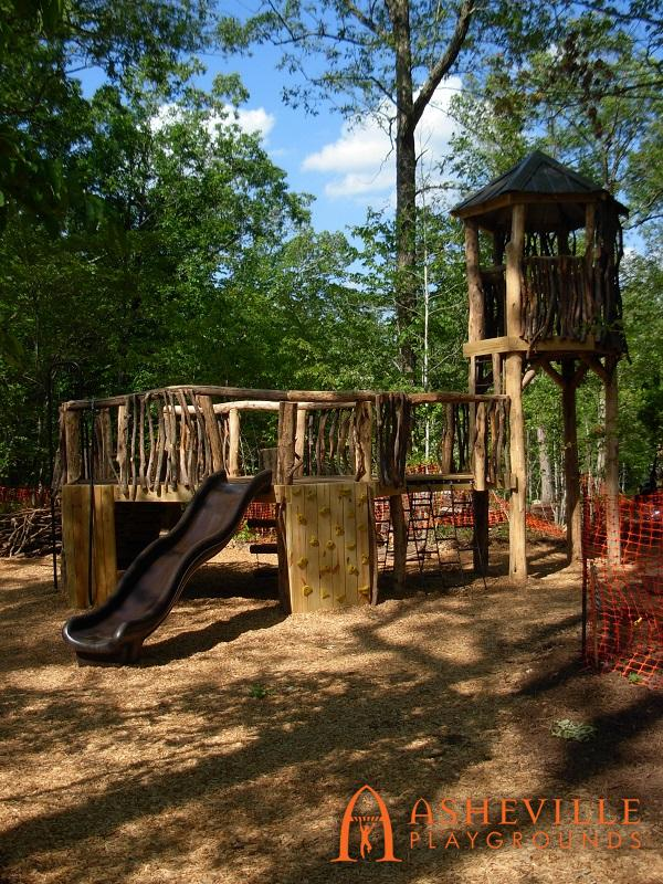 Rock Ridge Park Natural Playground Complete 2