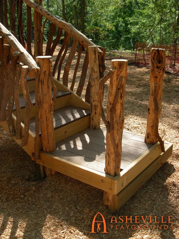 Rock Ridge Park Natural Staircase 1