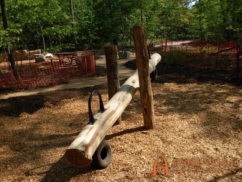 Rock Ridge Park Natural Teeter Totter