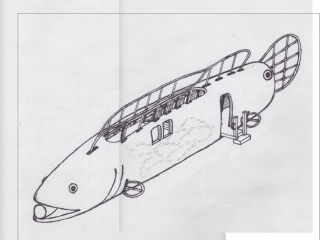 Saxapahaw One of a Kind Concept Sketch