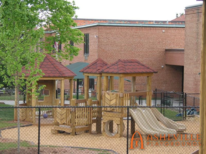 Side View of FBCA Playground