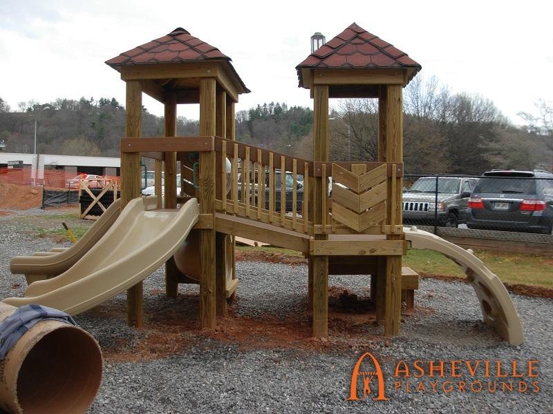 Toddler Play Structure Back Side